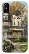 Victorian Home IPhone Case
