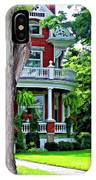 Victorian Home Painted Version IPhone Case