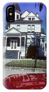 Victorian House In San Francisco IPhone Case