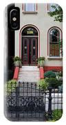 Victorian House Lafayette Sq St Louis IPhone Case
