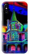 Victorian House Pop Art IPhone Case