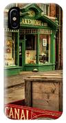 Victorian Town IPhone Case