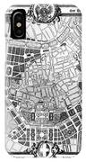 Vienna: Plan, 1860 IPhone Case
