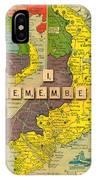 Vietnam War Map IPhone Case