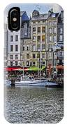 Vieux Bassin Of Honfleur IPhone Case