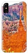View At Beginning Of Navajo Trail In Bryce Canyon National Park-utah IPhone Case