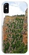 View Four From Walhalla Overlook On North Rim Of Grand Canyon-arizona IPhone Case