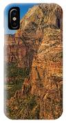View From Angel's Landing 2 IPhone Case