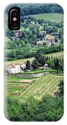View From Castello Vicchiomaggio IPhone Case