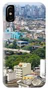 View From Edificio Martinelli 2 - Sao Paulo IPhone Case