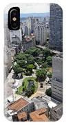 View From Edificio Martinelli 3 - Sao Pulo IPhone Case