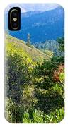 View From Trail To West Point Inn On Mount Tamalpais-california  IPhone Case