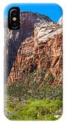 View From Weeping Rock IPhone Case