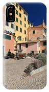 view in Sori Italy IPhone Case