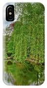 View Of A Botanical Garden, Krakow IPhone Case