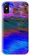View Of A Rain Storm 2  IPhone Case