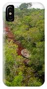 View Of Cano Cristales In Colombia IPhone Case