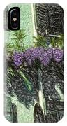 View Of Purple IPhone Case