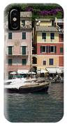 View Of The Portofino, Liguria, Italy IPhone Case
