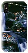 View Of Waterfall, Inversnaid Falls IPhone Case
