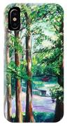 View Of Woodside Lake IPhone Case