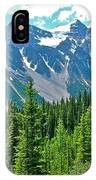 View On Trail To Lake Agnes In Banff Np-alberta IPhone Case