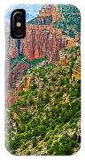 View Six From Walhalla Overlook On North Rim Of Grand Canyon-arizona IPhone Case