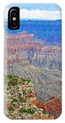 View Three From Walhalla Overlook On North Rim Of Grand Canyon-arizona  IPhone Case