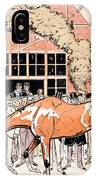 Viewing The Racehorse In The Paddock IPhone Case