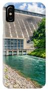 Views Of Man Made Dam At Lake Fontana Great Smoky Mountains Nc IPhone Case