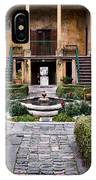 Villa Courtyard IPhone Case