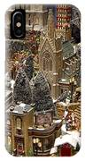Village Christmas Scene IPhone Case