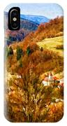 Village In The Valley IPhone Case