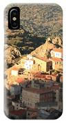 Village Of Speloncatu In Corsica IPhone Case