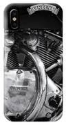Vincent Series C Black Shadow Engine IPhone Case