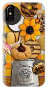 Vincent's Sunflower Cookie Jar IPhone Case