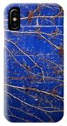 Vine On Blue Wall IPhone Case