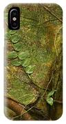Vine On Tree Bark IPhone Case