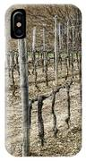 Vineyard In Early Spring IPhone Case