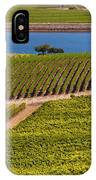 Vineyard On A Lake IPhone Case