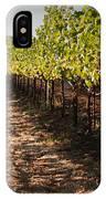 Vineyard Soil Of Sonoma IPhone Case
