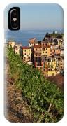Vineyards Of Manarola IPhone Case