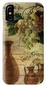 Vins Spiritueux Nectar Of The Gods IPhone Case