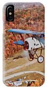 Vintage Airplane Postcard Art Prints IPhone Case