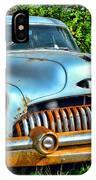 Vintage American Car In Yard IPhone Case