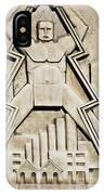Vintage Art Deco Muscular Man   IPhone X / XS Case