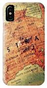 Vintage Australia IPhone Case