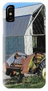 Vintage Barn And Equipment IPhone Case