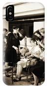Vintage Beauty Parlor IPhone Case