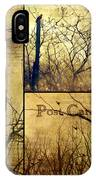 Vintage Birds Collage IPhone Case